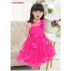 Váy công chúa đính hoa cực xinh cho bé gái từ 1-8 tuổi_CVG19860