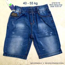 Quần short jean size cực đại