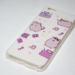 Ốp lưng Iphone Mèo Ú nhựa 6plus