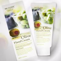 Kem dưỡng da tay Olive Hand Cream 3W Clinic Hàn Quốc