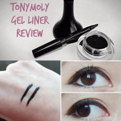 Gel Kẻ Mắt Backstage Gel Eyeliner - Tonymoly