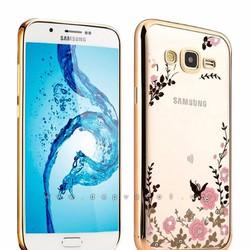 Ốp dẻo hình hoa Samsung Galaxy J7 2016