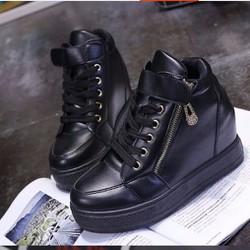 Giày bành mì để độn quai dán cá tính  BM022D - f3979.com