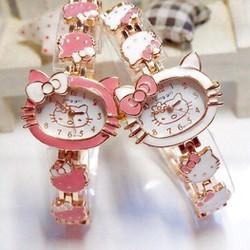 Đồng hồ vòng tay, lắc dây  kitty