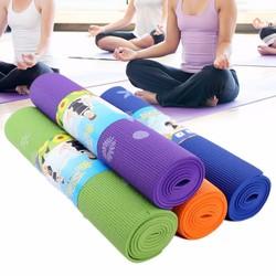 Thảm Yoga hoa văn 6mm kèm túi đựng