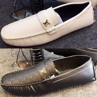 Giày Mọi Da Nam LV - 403