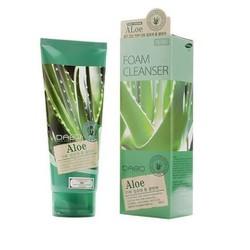 Sữa rửa mặt lô hội cao cấp Hàn Quốc Dabo Aloe Foam Cleanser 180ml