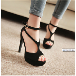 Giày cao gót cao cấp quý phái