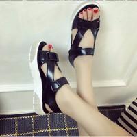 Giày Sandal quai dán phong cách -S031D- F3979.com