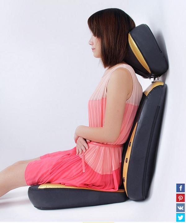 Đệm massage toàn thân 4D nhật bản 30 viên bi mát xa 8