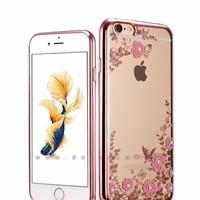 Ốp lưng hình hoa Iphone 5, 5 S, SE