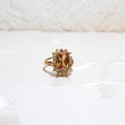 Nhẫn mạ vàng đính đá tinh xảo