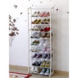 Kệ giày dép 10 tầng cao cấp tiện dụng