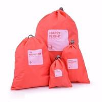 Combo 4 túi rút dây chống thấm du lịch