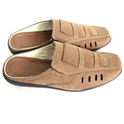 Giày Sabo Nam Nâu Nhạt Đẹp Tinh Tế