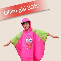 Áo mưa trẻ em size 5