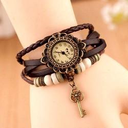 Đồng hồ vòng tay thời trang mặt chìa khóa