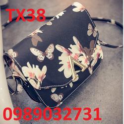 Túi xách thời trang họa tiết bướm - TX38