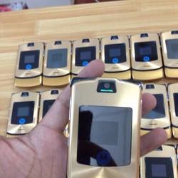 Motorola V3i Gold Huyền thoại đẹp lung linh