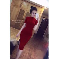 HÀNG THÁI - Đầm maxi thun body hotgirl