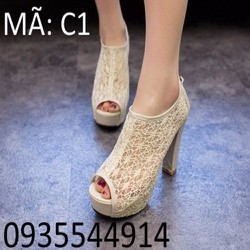 Giày cao gót Hàn Quốc kiểu dáng sang trọng C1