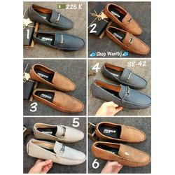 [Hàng Đã Về] Giày Lười Da 06 Size 38-42