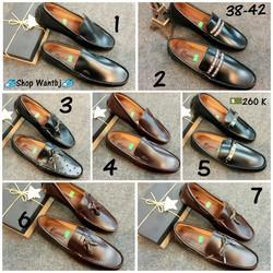 [Hàng Đã Về] Giày Lười Da 05 Size 38-42