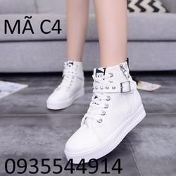Giày Sneaker nữ siêu hot Hàn Quốc C4