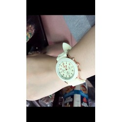 Đồng hồ dây cao su nữ cực kute