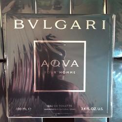 Chính hãng -  Nước hoa  Bvlgari Aqva Pour Homme 100ML