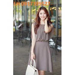 Đầm xòe Hàn Quốc mới Váy xòe Hàn Quốc mới L12DV928