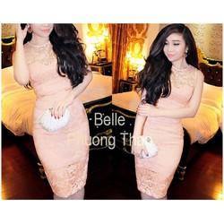 Đầm Ren Body Cao Cấp Bella MT-D874
