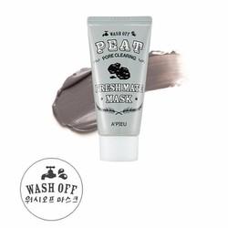 Mặt Nạ Làm Sạch Lỗ Chân Lông, Hạn Chế Mụn Đầu Đen Fresh Mate Peat Mask