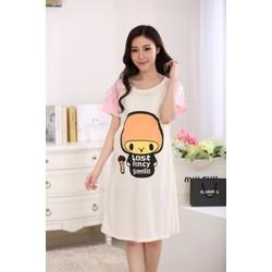 Đầm bầu mặc nhà siêu kute VB7982