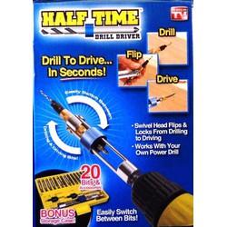 Bộ mũi khoan Half Time 2 đầu xoay tiện lợi