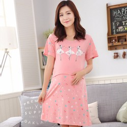 Đầm bầu mặc nhà thun cao cấp VB926H