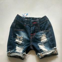 quần Jean wash bé trai sành điệu