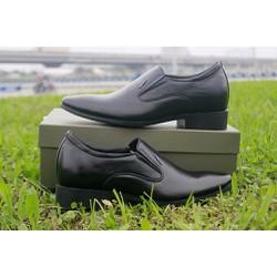 Giày lười cao công sở màu đen giá rẻ mã GCD0736D