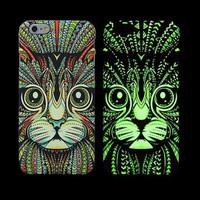 Ốp lưng iphone 5, 5S Luxo dạ quang