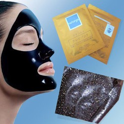 Hộp 10 gói mặt nạ bùn lột mụn Shiseido Naturgo