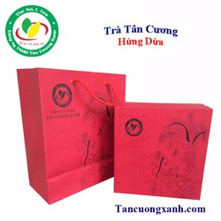 Bộ Qùa Tặng Hộp Trà Tân Cương Hứng Dừa