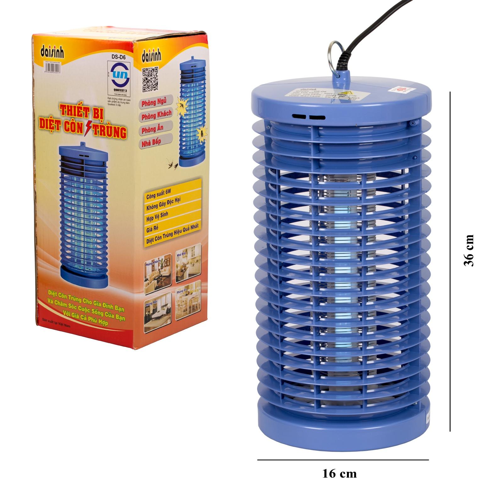 Đèn bắt muỗi Đại Sinh DS D6