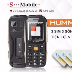 Điện thoại Hummer 3 Sim 3 Sóng