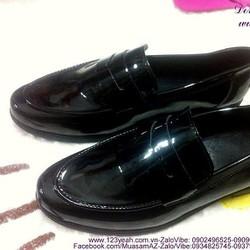 Giày nam công sở da bóng sành điệu sang trọng GDNHK158