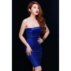Đầm Body Kim Tuyến - Xanh