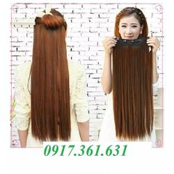tóc kẹp thẳng