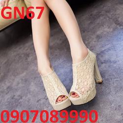 Giày cao gót điệu đà duyên dáng - GN67