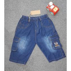 [Quần size đại] - Quần jean 2 túi bé trai