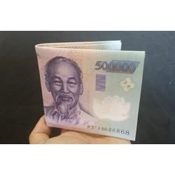 Ví Tiền 500K, 200K Cực Chất Nam Sành Điệu - Giá Cực Sốc