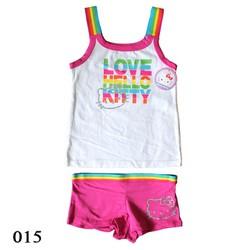 015 - Bộ đồ ngắn bé gái Kitty - Tinker Bell Kids